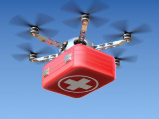 drones in the medical supply chain