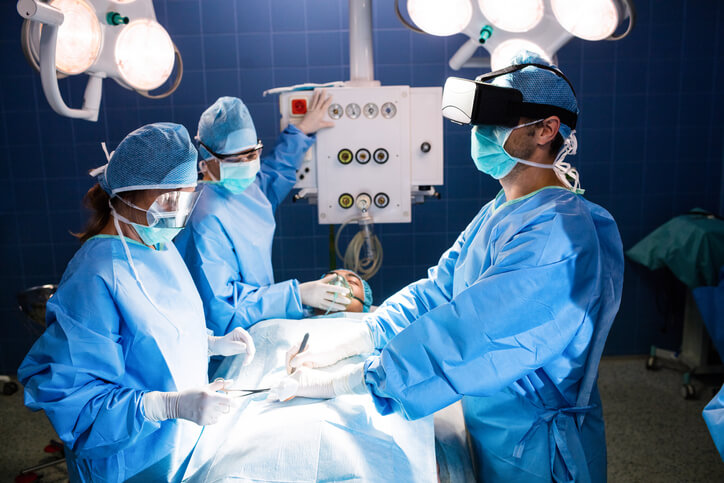 augmented reality in surgery