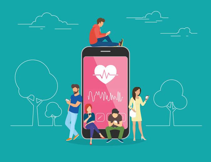 social media in health
