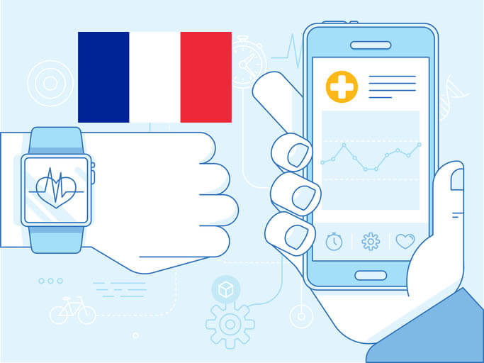 innovative digital health, eHealth, mHealth startups in France