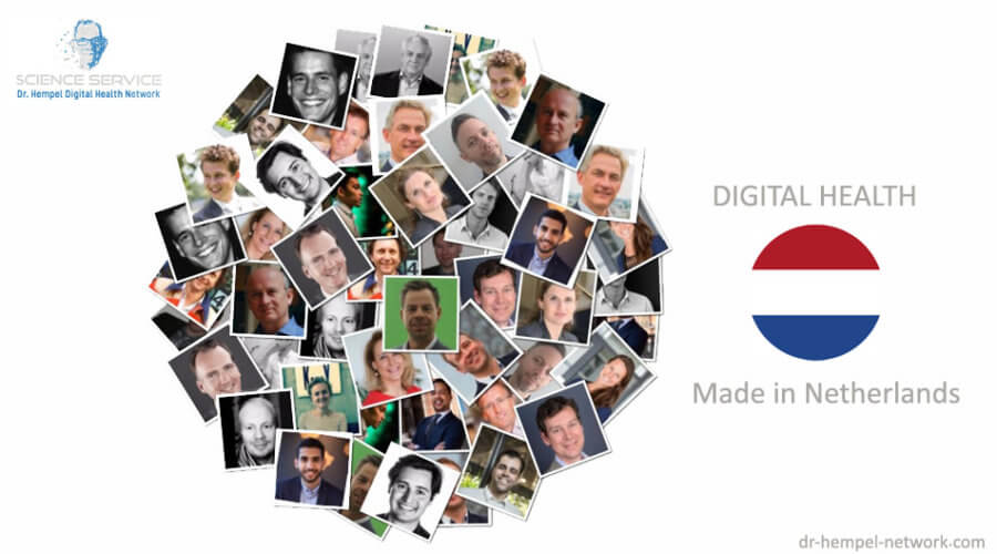 26 digital health innovators in the Netherlands