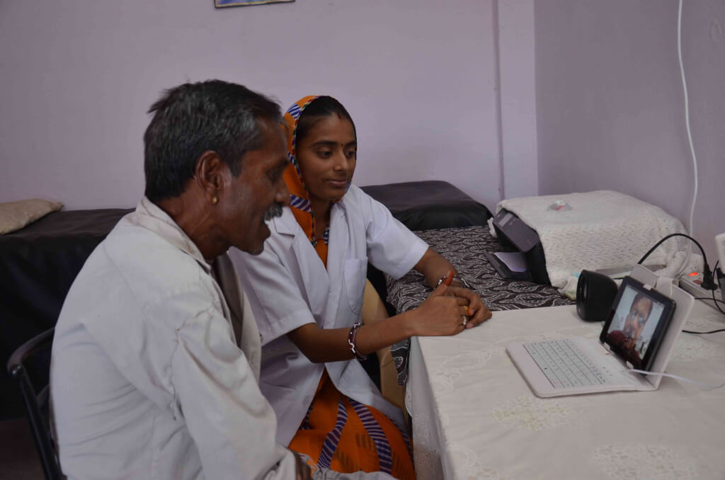 digital health in small town India