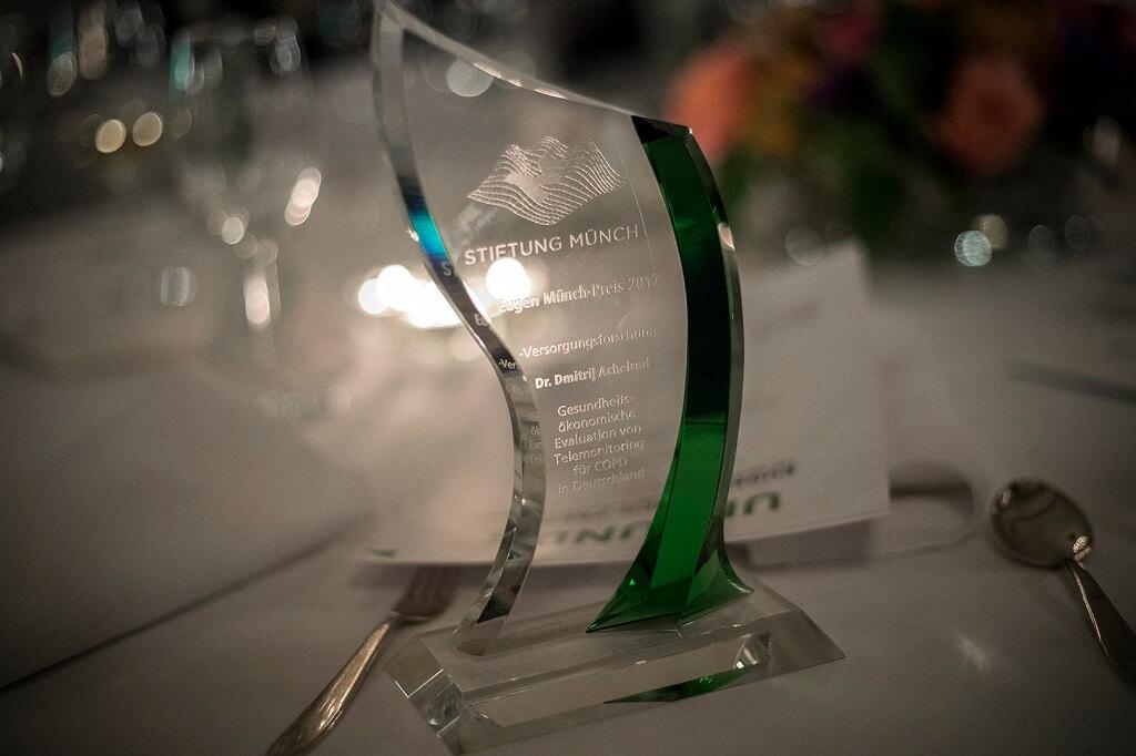 Eugen Münch Prize for innovative health care