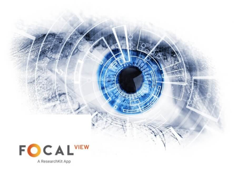 mobile app to track eye disease progression