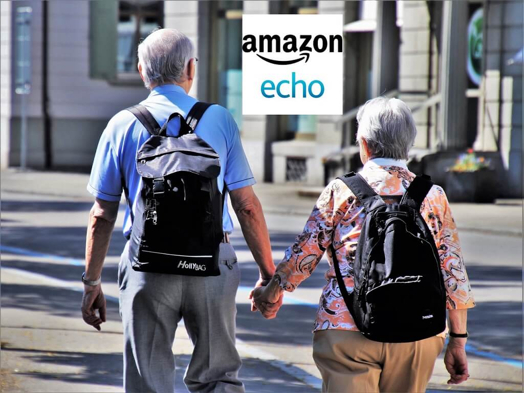 Amazon Echo helping people with vision impairment