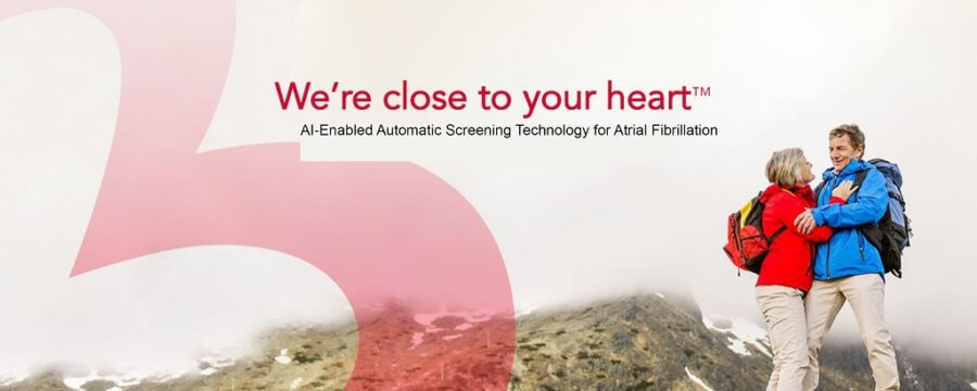 AI technology to detect Atrial Fibrillation events​