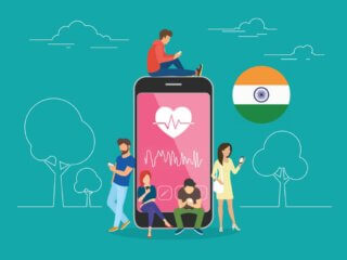 growth of health & fitness apps in India