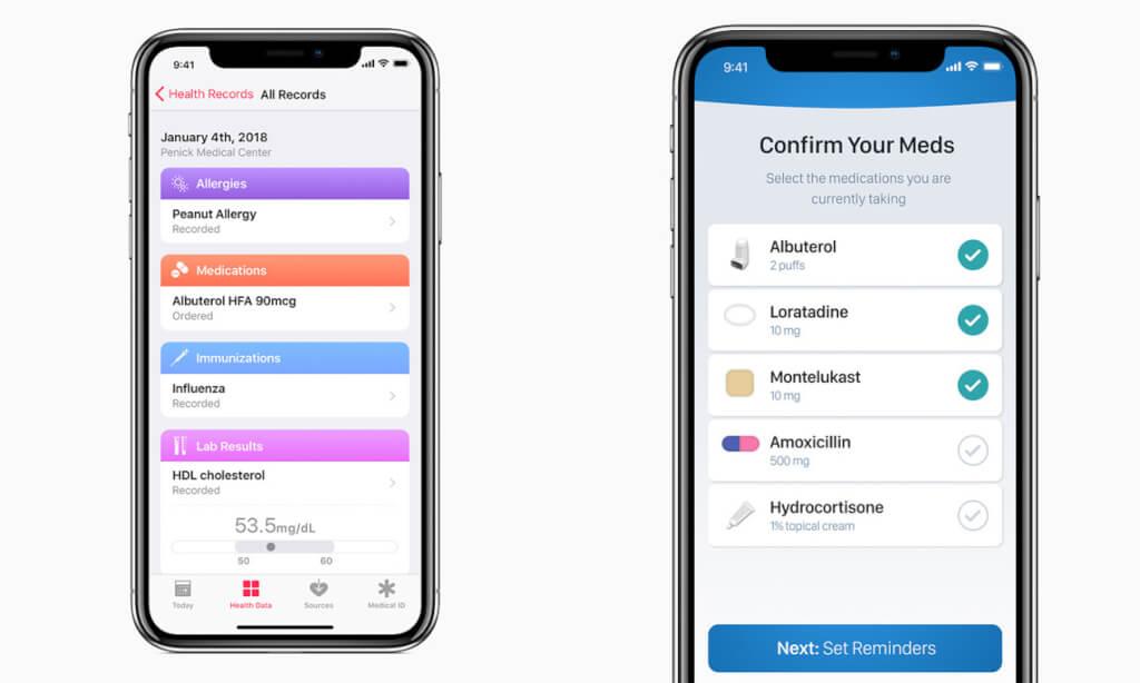 Apple announces Health Records API