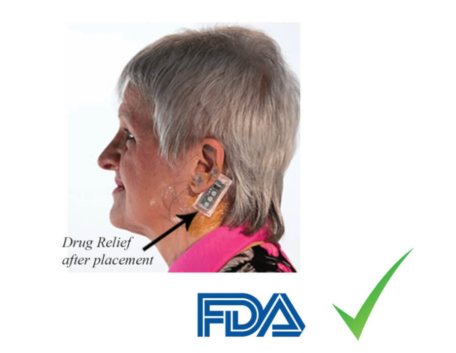 wearable device for opioid withdrawal symptoms treatment