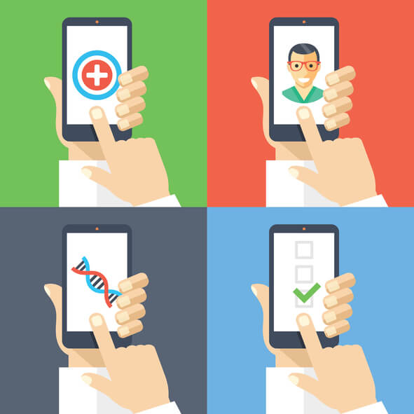 global digital health apps market