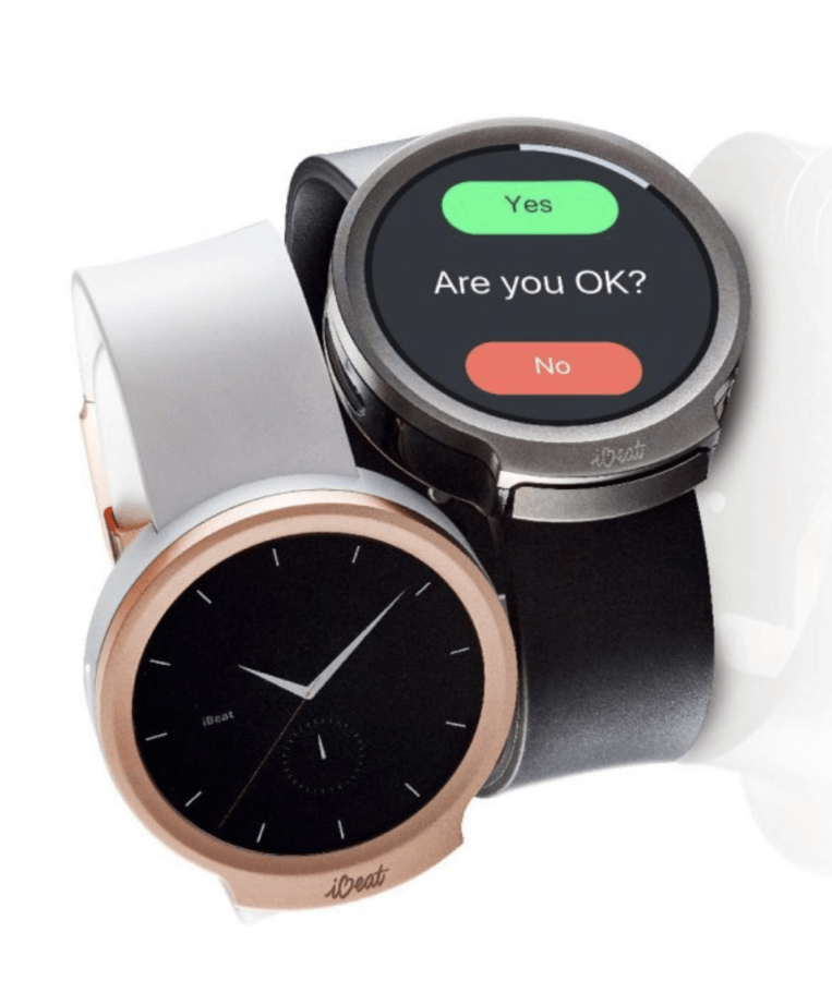 smartwatch to alert medical professionals
