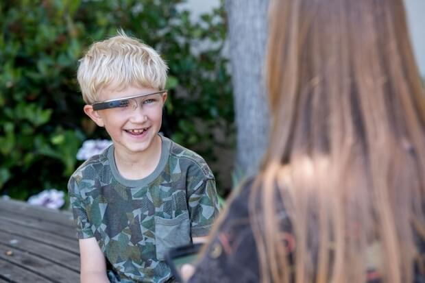 google glass for autistic children