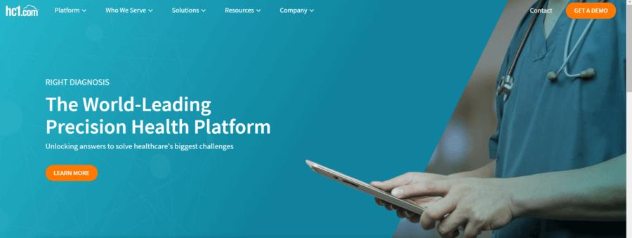 precision medicine startup