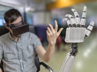 VR and tactile prosthetics