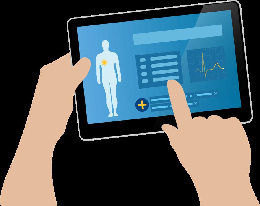 electronic health records database