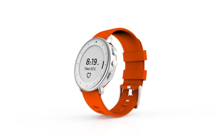 wearable watch for ECG