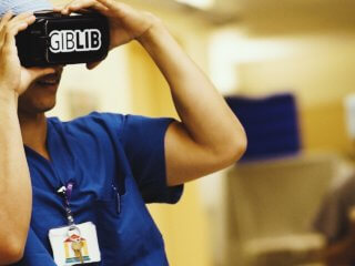 VR app for training medical practitioners